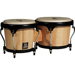 LP-LPA601-Aspire-Oak-Bongos-with-Black-Hardware-Natural