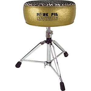 Pork-Pie-Round-Drum-Throne-Gold-with-Leopard-Top