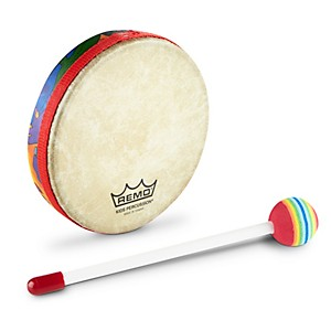 Remo-Kid-s-Percussion-Rain-Forest-Hand-Drums-1X6-Inches