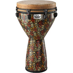 Remo-Mondo-Designer-Series-Key-Tuned-Djembe-Multi-Mask-25X14-Inches