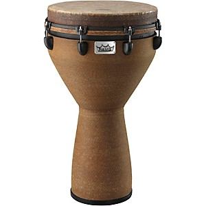 Remo-Mondo-Designer-Series-Key-Tuned-Djembe-Earth-25x14-Inch