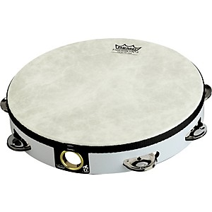Remo-Fixed-Head-Tambourines-White-10-