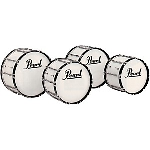 Pearl-Championship-Bass-Drum-Pure-White-14x16