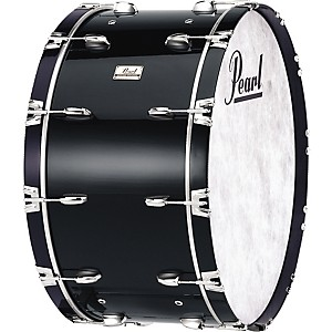 Pearl-Concert-Bass-Drum-Midnight-Black-16x36
