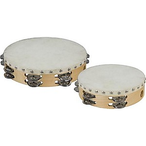 Cannon-Percussion-Double-Row-Tambourine-8-Inches