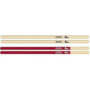 Vic-Firth-Alex-Acuna-Conquistador-Timbale-Sticks-Red