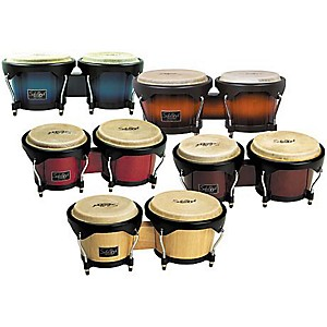 Schalloch-Wood-Bongo-Set-Blue-Fade
