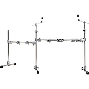 PDP-Chrome-Plated-Main-and-Side-Drum-Rack-Package-Standard