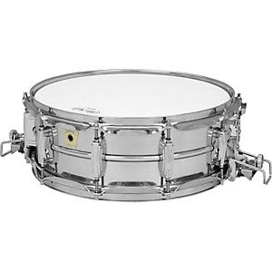 Ludwig-Super-Sensitive-Snare-Drum-with-Classic-Lugs-Chrome-5X14-Inches