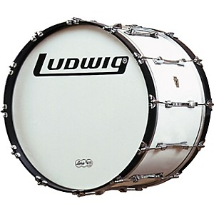 Ludwig-Challenger-Bass-Drum-White-16-Inch