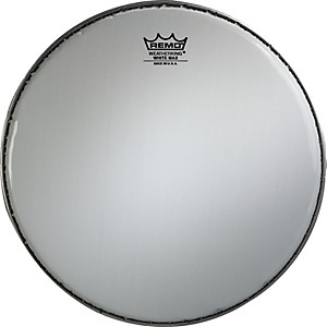Remo-White-Max-Crimped-Smooth-White-Marching-Snare-Drum-Head-14-Inches