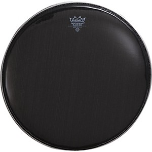Remo-Black-Max-Crimped-Marching-Snare-Drum-Head-Ebony-14-Inches