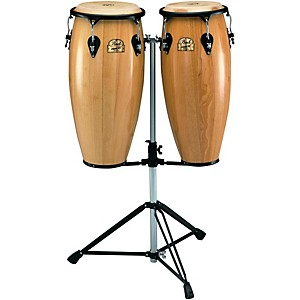Pearl-Primero-Conga-Set-with-Twin-Stand-Natural