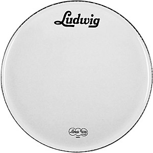 Ludwig-Vintage-Logo-Bass-Drumhead-White-22-Inch