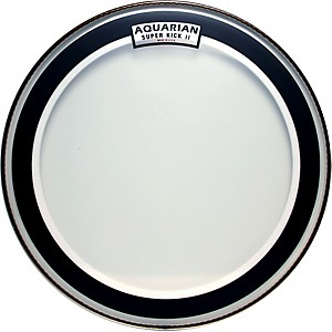 Aquarian-Super-Kick-II-Drum-Head-20-Inches
