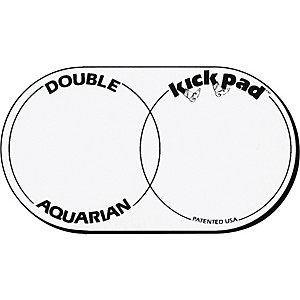 Aquarian-DKP2-Double-Kick-Drum-Pad-Standard