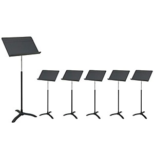 Manhasset-M48-Carton-of-6-Music-Stands-Standard