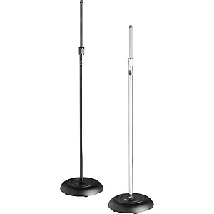 Atlas-Sound-MS-10C-Round-Base-All-Purpose-Mic-Stand-Ebony