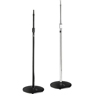 Atlas-Sound-MS20-Heavy-Duty-Round-Base-Mic-Stand-Ebony