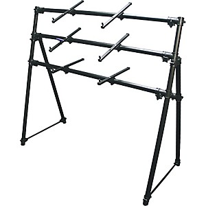On-Stage-Stands-KS-7903-3-Tier-A-Frame-Keyboard-Stand-Standard