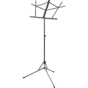 ProLine-GMS20-Music-Stand-Black