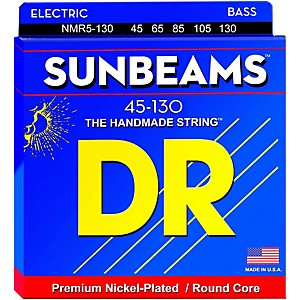 DR-Strings-Sunbeams-NMR5-130-Medium-5-String-Bass-Strings--130-Low-B-Standard