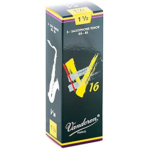 Vandoren-Tenor-Sax-V16-Reeds-Strength-1-5-Box-of-5