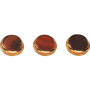 Bach-Brazilian-Agate-Trumpet-Finger-Buttons-3-Pack-Gold