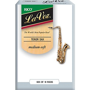 La-Voz-Tenor-Saxophone-Reeds-Medium-Soft-Box-of-10