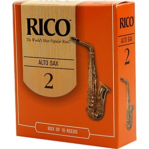 Rico-Alto-Saxophone-Reeds-Strength-2-Box-of-10