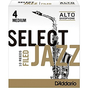 Rico-Select-Jazz-Filed-Alto-Saxophone-Reeds-Strength-4-Medium-Box-of-10