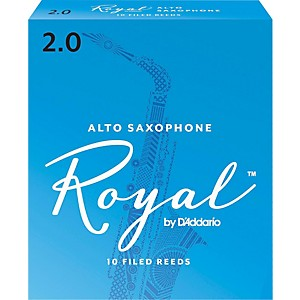 Rico-Royal-Alto-Saxophone-Reeds-Strength-2-Box-of-10