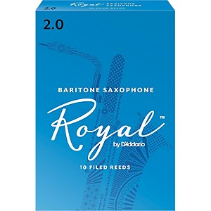 Rico-Royal-Baritone-Saxophone-Reeds-Strength-2-Box-of-10