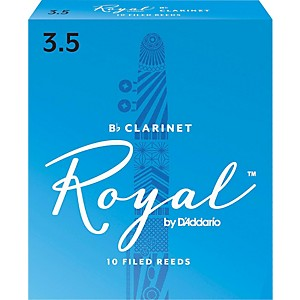 Rico-Royal-Bb-Clarinet-Reeds-Strength-3-5-Box-of-10
