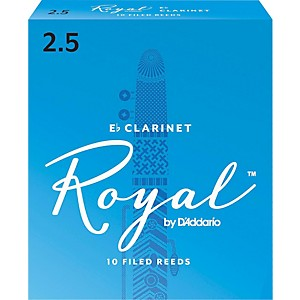 Rico-Royal-Eb-Clarinet-Reeds-Strength-2-5-Box-of-10