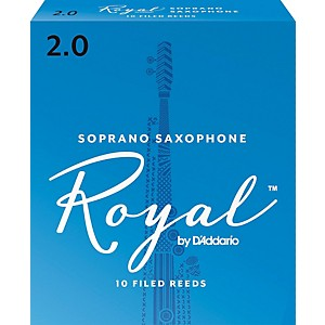 Rico-Royal-Soprano-Saxophone-Reeds-Strength-2-Box-of-10