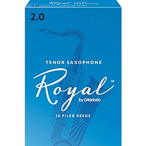 Rico-Royal-Tenor-Saxophone-Reeds-Strength-2-Box-of-10