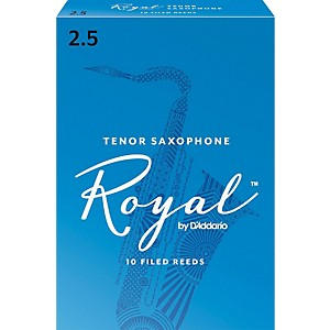 Rico-Royal-Tenor-Saxophone-Reeds-Strength-2-5-Box-of-10