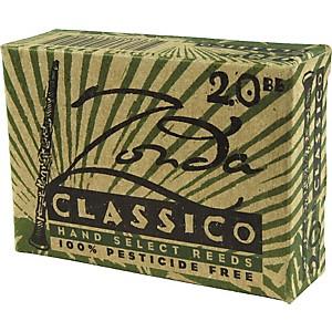 Zonda-Classico-Bb-Clarinet-Reeds-Strength-2-Box-of-10