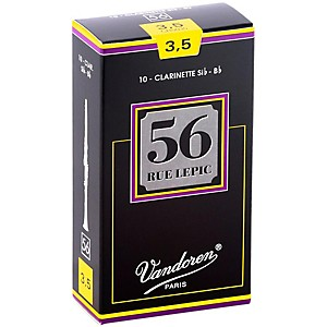Vandoren-56-Rue-Lepic-Bb-Clarinet-Reeds-Strength-3-5-Box-of-10