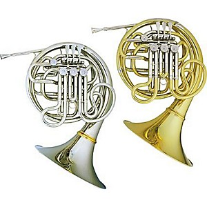 Hans-Hoyer-Heritage-6801-Bb-F-Double-French-Horn-Detachable-Bell-Nickel