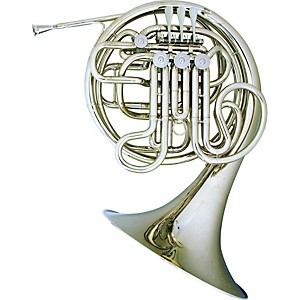 Hans-Hoyer-Heritage-6802-Bb-F-Double-French-Horn-String-Mechanism-Nickel
