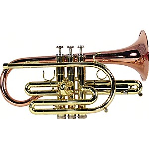 Getzen-800-Eterna-Series-Bb-Cornet-800SL-Silver-Yellow-Brass-Bell--464-Bore