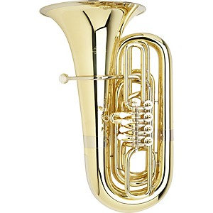 Miraphone-191-Series-5-4-BBb-Tuba-S191-4V-Yellow-Brass-4-Valves-Standard-Slides