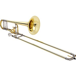 Jupiter-1236-XO-Professional-Series-F-Attachment-Trombone-1236L-T-Lacquer---Thayer-Valve-and-Yellow-Brass-Bell