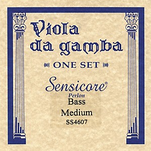 Super-Sensitive-Sensicore-Bass-Viola-de-Gamba-Strings-Set