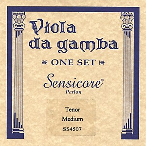 Super-Sensitive-Sensicore-Viola-de-Tenor-Gamba-Strings-Set--Medium
