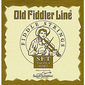 Super-Sensitive-Old-Fiddler-Violin-Strings-Set--Medium-4-4-Size