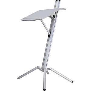 K-M-Ovation-Portable-Lectern-White