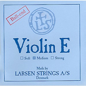 Larsen-Strings-Violin-Strings-Set--Steel-Ball-End-E--Aluminum-D-4-4-Size